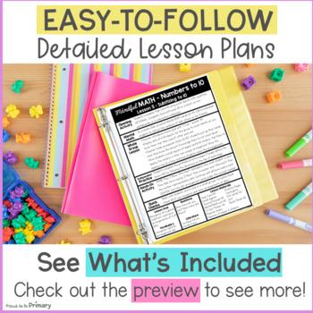 Numbers to 10 - Kindergarten Mindful Math