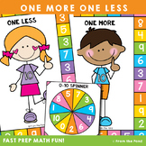 Numbers to 10 Math Game - One More One Less