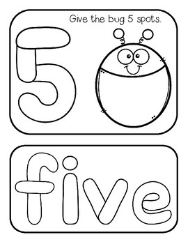 Numbers to 10--Playdoh Mats for PK-1