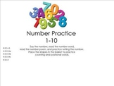 Numbers to 10 Smartboard Lesson