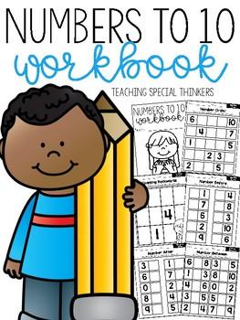 Numbers to 10 Workbook