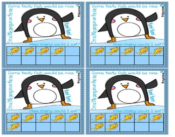 Pen a Penguin Numbers to 10 Write & Wipe