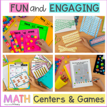 Numbers to 100 & 120 {Place Value, Skip Counting} - First Grade Mindful Math