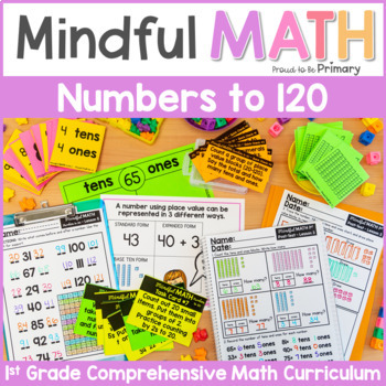 Grade 1 Math: Numbers to 100 or 120 - Place Value, Skip Counting