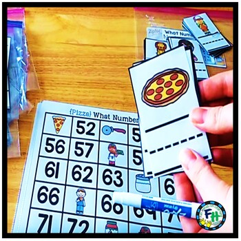 Numbers to 100 Activity Centers {8 Centers}
