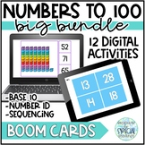 Numbers to 100 - Boom Cards Distance Learning