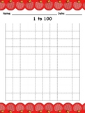 Numbers to 100 Chart