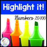 Numbers to 100:  Highlight it!