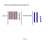 Numbers to 100 (Place Value) SmartBoard Harcourt Math Grade 2