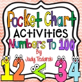 Numbers to 100 Pocket Chart Activities