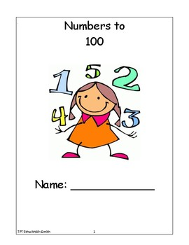 Numbers to 100 Student Workbooklet/Worksheets (greater than and less than)