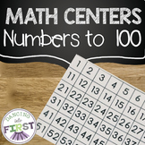 Numbers to 100 Math Centers