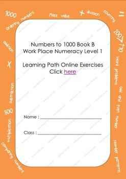 Numbers to 1000 Book B