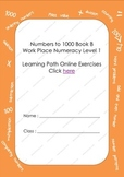 Numbers to 1000 Book B Online Activities