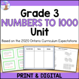 Numbers to 1000 Unit (Grade 3) - Distance Learning