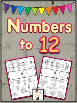 Numbers to 12 Printables