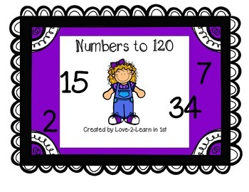 Numbers to 120