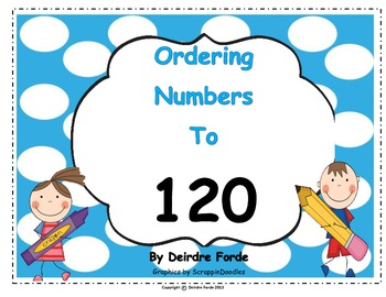 Ordering Numbers to 120