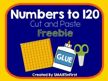 Numbers to 120 Freebie