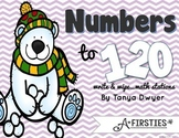 Numbers to 120 Math Stations {Just Write & Wipe!}