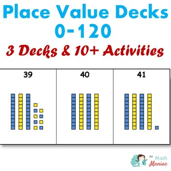 Numbers to 120 place value decks!