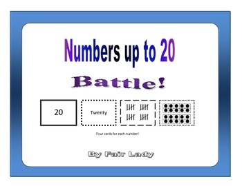 Numbers to 20 - Battle!