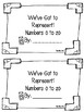Numbers to 20 Book