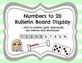 Number Path Bulletin Board Display