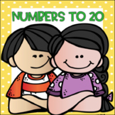 Numbers to 20...Focus Chart, Tools, Games and Activities