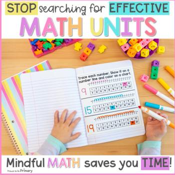 Numbers to 20 Kindergarten