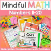Numbers to 20 Kindergarten