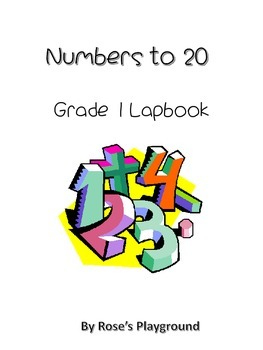 Numbers to 20 Lapbook