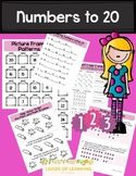Numbers to 20 - Making Patterns, Ordering, and Comparing Numbers