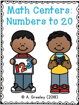 Numbers to 20 Math Centers BUNDLE