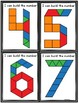 Numbers Pattern Block Mats