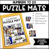 Numbers to 20 PreK, Preschool, Kindergarten, First Grade |