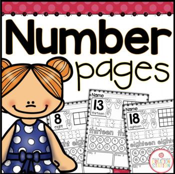 Numbers to 20 Printables