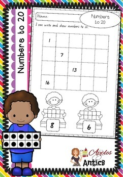 Numbers to 20 - Writing Numbers