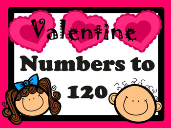 Numbers to 200 Valentine