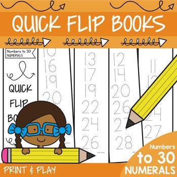 Numbers to 30 Mini Workbook Fun