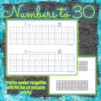 Numbers to 30