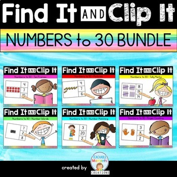 Numbers to 30 BUNDLE
