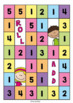 Numbers to 30 Math Center Game