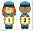 Freebie: Numbers to 5 Math Center