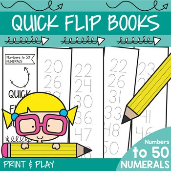 Numbers to 50 Workbook Activities