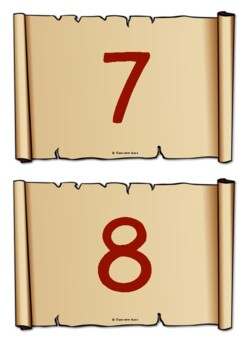 Numbers to 50 (Old Scrolls)