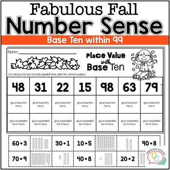 #fallfordollardeals  FALL MATH ACTIVITIES (NUMERACY TO 99)