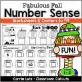 Fall Math Activities (NUMERACY TO 99)