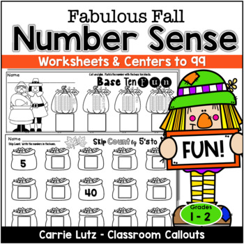 Numeracy to 99  ~ Fall Numeracy Fun { Practice Pages and S