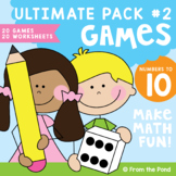 Math Centers and Games for Numbers 1 to 10